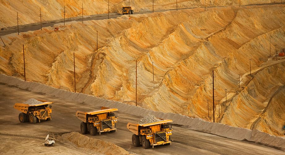 صادرات مواد معدنی